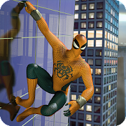 Solo Superhero in Night City Battleground APK