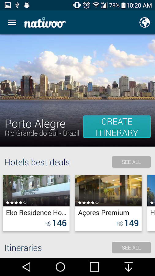 Porto Alegre POA Travel Guide- screenshot