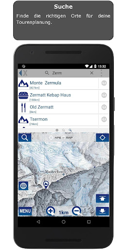 Outdoor and Hiking Navigation  screenshots 6
