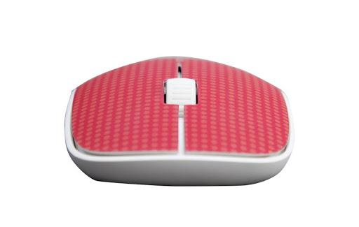 Chuột máy tính Rapoo M200 Silent Wireless không dây (Đỏ)-2