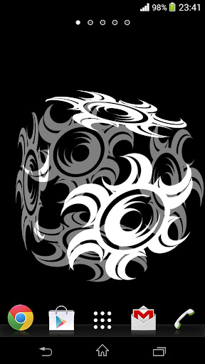 免費下載漫畫APP|3D部落月亮动态壁纸 app開箱文|APP開箱王