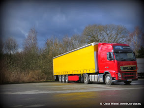 Photo: Lonely at the truck stop...     Click for more photos: www.truck-pics.eu or join me on Facebook: claus wiesel