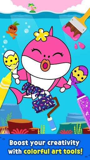 Pinkfong Baby Shark Coloring Book screenshot 4