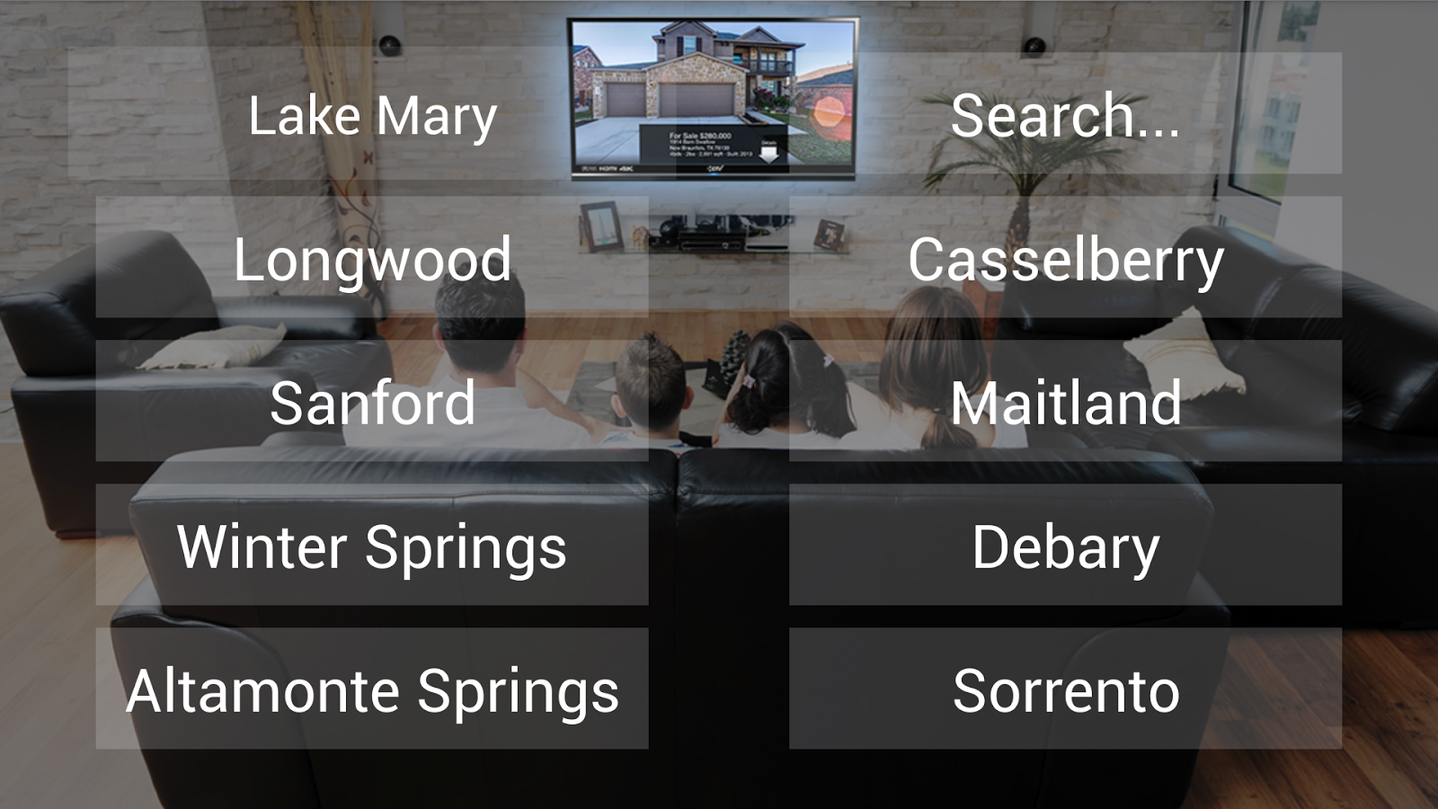 Search Homes on TV - Keyboom!- screenshot