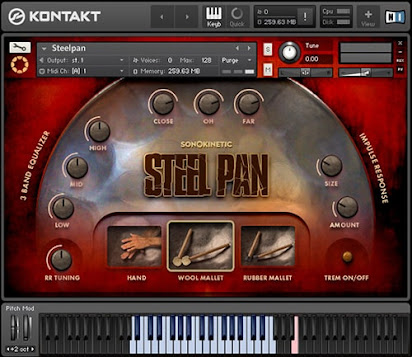 DOWNLOAD Sonokinetic SteelPan KONTAKT | 1 47 GB
