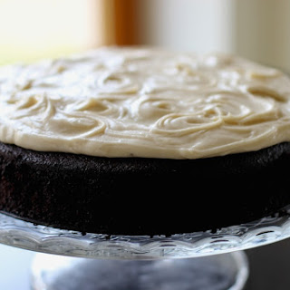 Guinness Chocolate Cake with Brown Butter Cream Cheese Icing.