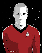 Photo: Not Quite 366 Avatars Project 2012 Ok, no more All Female Avatar Spotlight. Now is time for teh nerds! Here's a Trekkie. Red shirt means bad news for this fella. Let's just hope the Force is strong with this one.