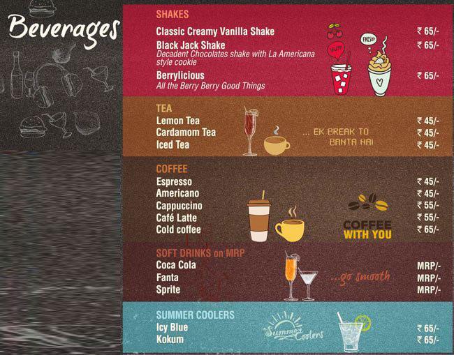 La Americana menu 3