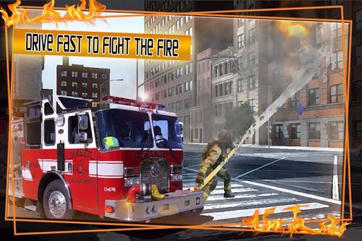 火災トラック 911 緊急