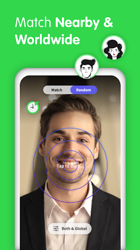 Gaze Video Chat App-Random Live Chat & Meet People screenshot 2
