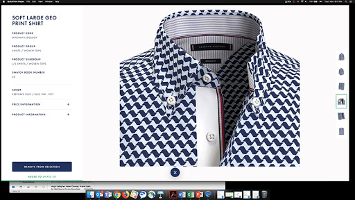 TOMMY HILFIGER Fall 2020 men's dress shirts will be 100% 3D designed (Photo: Business Wire)