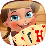 Solitaire match cowboy Icon
