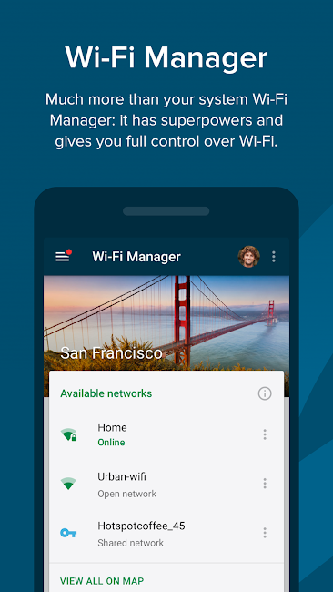 #3. Free WiFi - Wiman (Android)