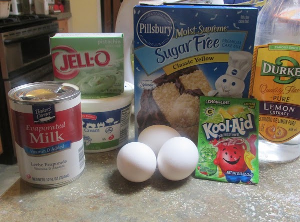 These are most of the ingredients that I used in this recipe.