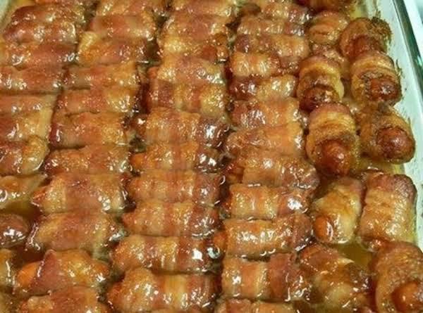 Lil Smokies Bacon Wrapped