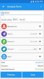 Simple Invoice Manager APK screenshot thumbnail 3