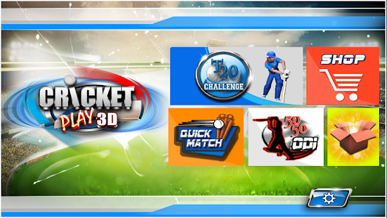 Cricket Play 3D: Live The Game- screenshot thumbnail