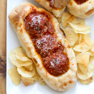 Easy Sausage Meatball Subs