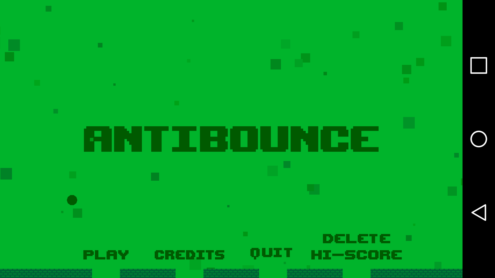 Antibounce- screenshot