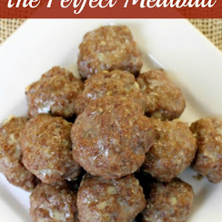 Meatball With Ground Beef Recipes