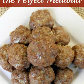 The Perfect Meatball.