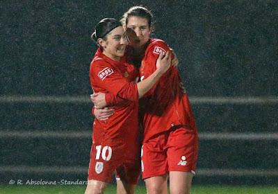 Super League: un choc pour le Standard Femina, une belle occasion pour Anderlecht