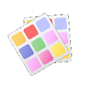 Ipack / Red Gold Paint HD icon