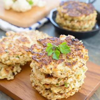 Cauliflower Fritters Healthy Recipes