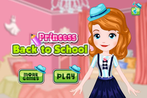 Princess Jenny Back to School