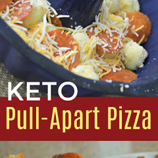 Pull-Apart Keto Pizza Recipe