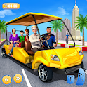 Smart Taxi Driving Simulator : Taxi Games 2020 icon