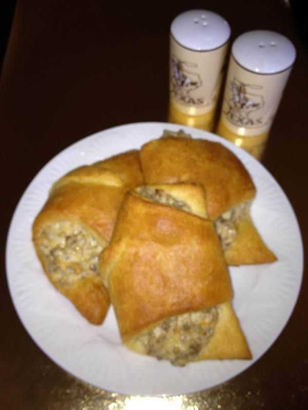 Sausage Breakfast Crescents Recipe