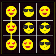 Tic Tac Toe : Neon, Glow And Emoji Themes