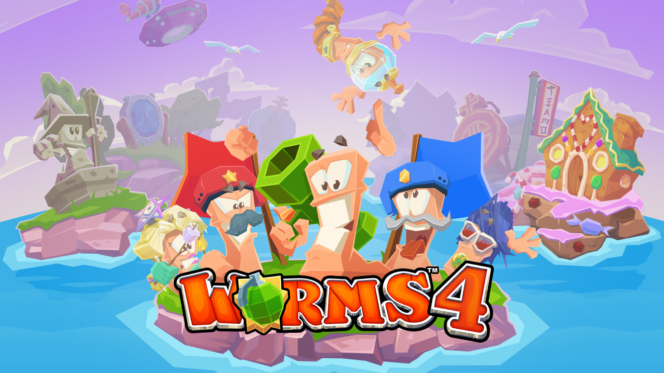 Worms 4- screenshot