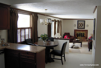 Photo: Kitchen/family room after