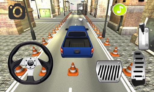 トラック駐車場3D市