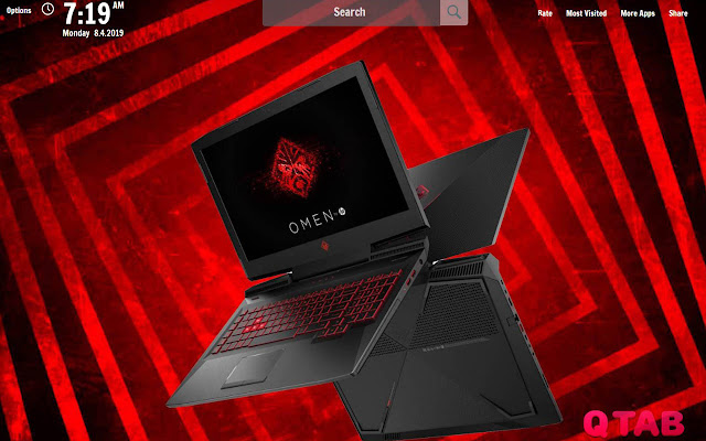 Hp Omen New Tab Hp Omen Wallpapers