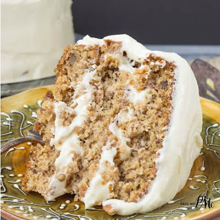 Old Fashioned Banana Layer Cake with Cream Cheese Frosting