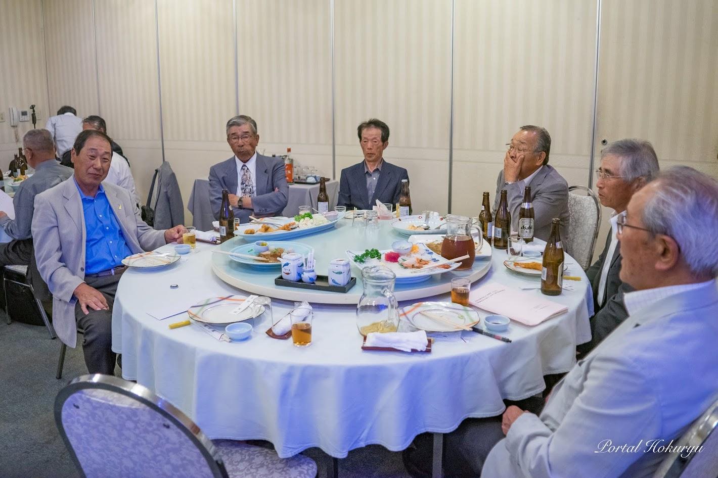 北空知青年団OB会総会、並びに河野順吉さん『深川に生きて』発刊記念祝賀会