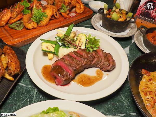 Matches餐廳,氣氛極佳的歐風餐廳菜色新改版,爐烤牛排香味撲鼻,鐵觀音也能有微醺感!(台中宵夜/台中西餐/試吃)