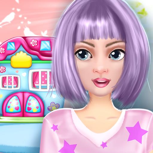 Baixar Jogos decoração de casas de bonecas para Android