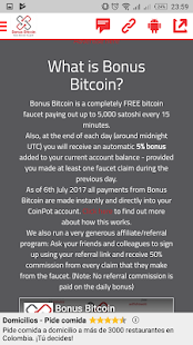 Bonus Bitcoin- screenshot thumbnail