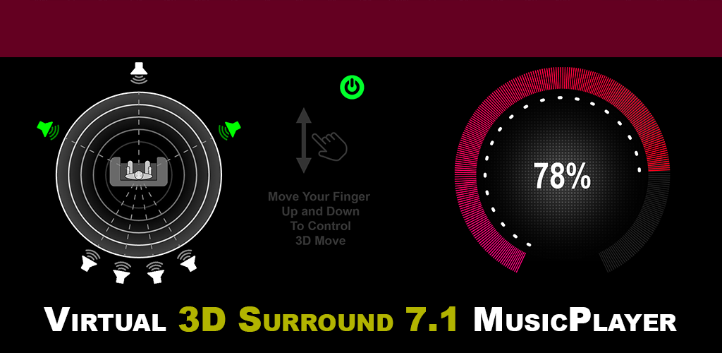 3D Surround Music Player 1 7 01 Apk Download - com