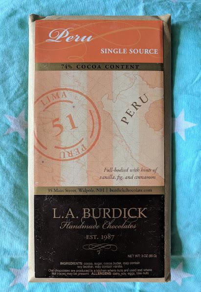 74% l.a. burdick peru bar