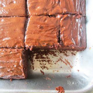 Peppermint & Buttermilk Dark Chocolate Cake