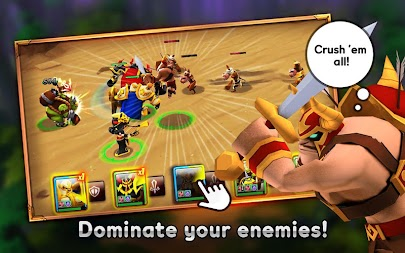 Giants War APK screenshot thumbnail 3
