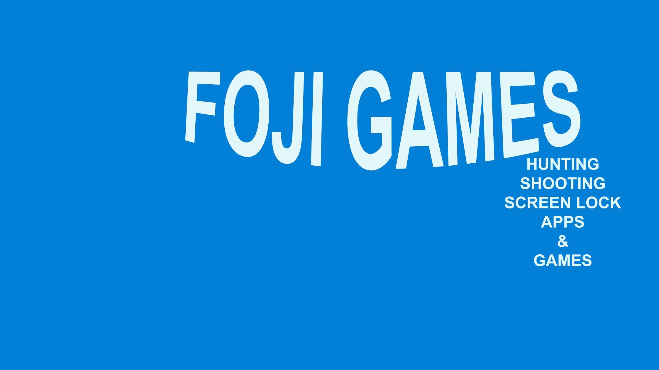 Foji Games
