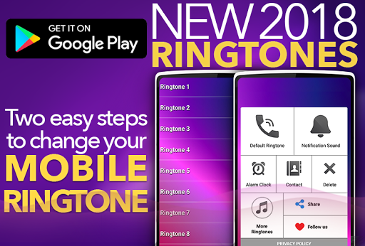 New Ringtones 2018 1.2 screenshots 1