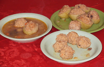 Photo: Zupa z faszerowaną kalarepką i gałkami mięsnymi 26