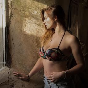 Zoe by Brian Pierce - People Portraits of Women ( model, gunwalloe, portrait, zoe,  )